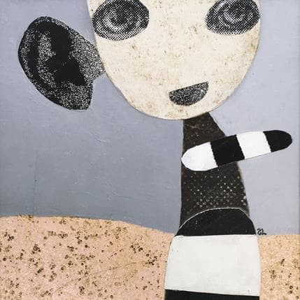 Suzanne Lastrina What did you say 13 x 13 cm