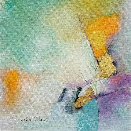 Karen Hale With a touch of gold 19 x 19 cm