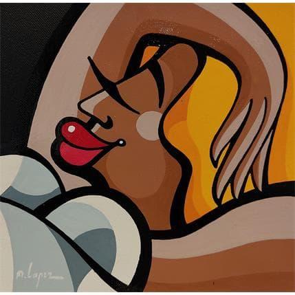 Alfredo Lopez DIMANCHE PLUVIEUX 13 x 13 cm