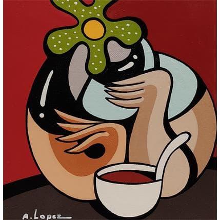 Alfredo Lopez CHOCOLAT TROP TOT 13 x 13 cm