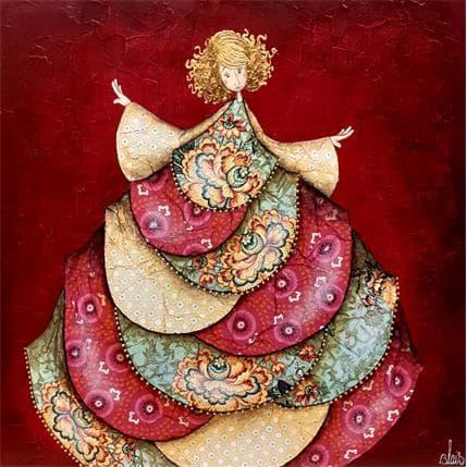 Delphine Blais Rose 36 x 36 cm
