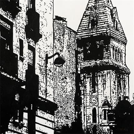 Laurent Angeli Paris Alesia 19 x 19 cm