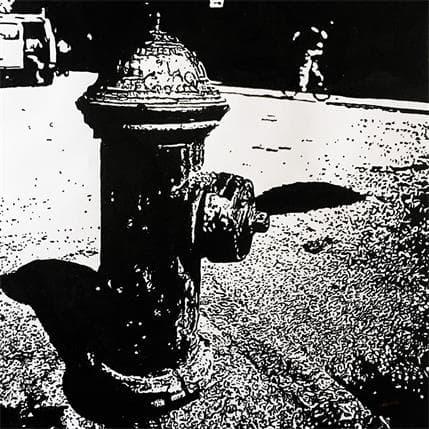 Laurent Angeli Eau New York 36 x 36 cm