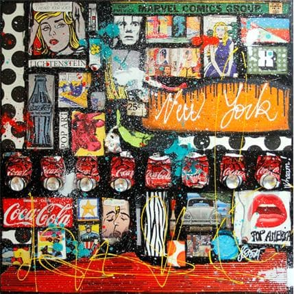 Sophie Costa Roy and co 100 x 100 cm