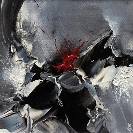 Estelle Barbet La cerise sur le tableau 13 x 13 cm