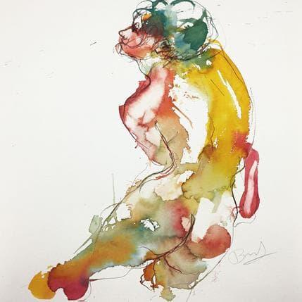Sebastien Brunel Charlotte dos arc en ciel 1 36 x 36 cm