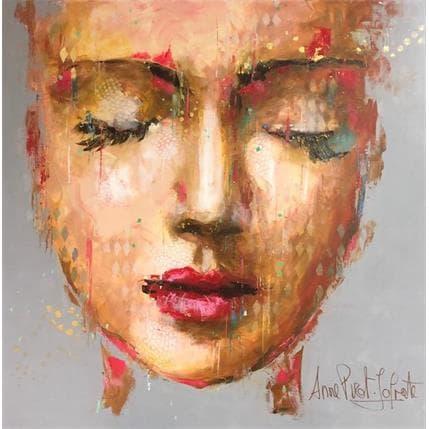 Anne Pivot-Iafrate Barbara 100 x 100 cm