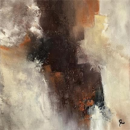 Carine Chevieux L'autre monde 36 x 36 cm