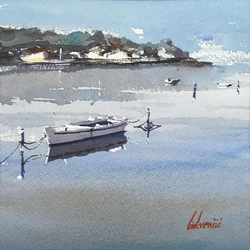 Beautiful seaside view-boats