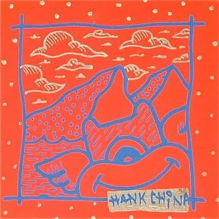 Hank China Orange mountain 13 x 13 cm