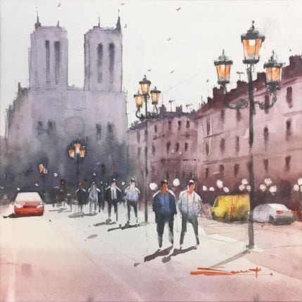 Swarup Dandapat Notre-Dame de Paris 19 x 19 cm