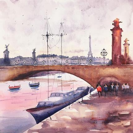 Swarup Dandapat Pont Alexandre III 36 x 36 cm