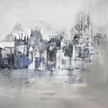 De Miguel Garcia Pedro Ciudad en gris 36 x 36 cm