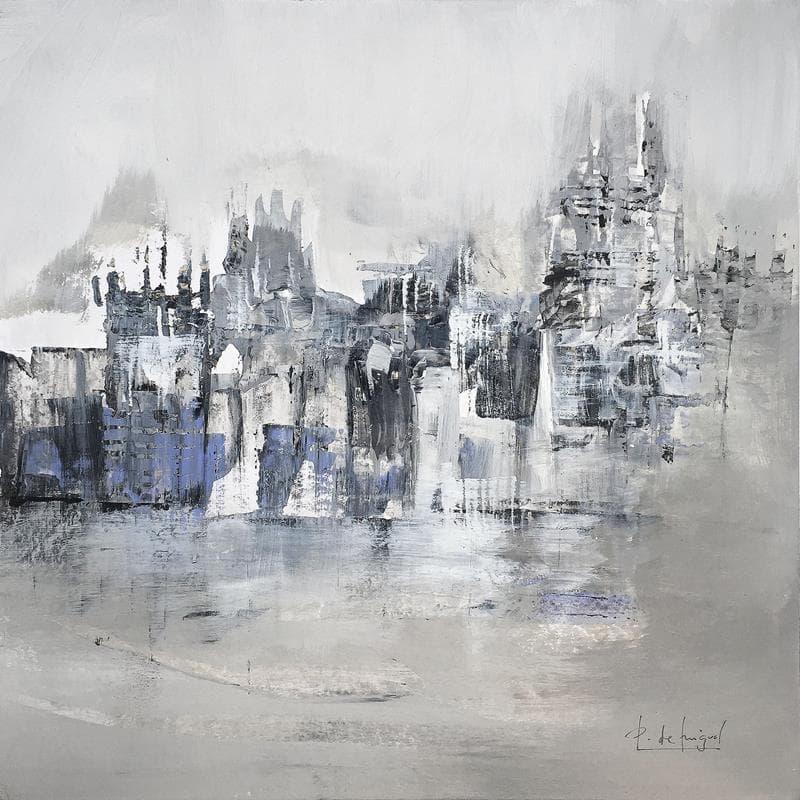 Ciudad en gris