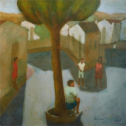 Waldomiro Santanna Domingo 36 x 36 cm
