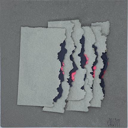 Gérard Clisson Petites flammes 19 x 19 cm