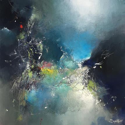 Roselyne Dupetitpré Dans le reflet infini 36 x 36 cm