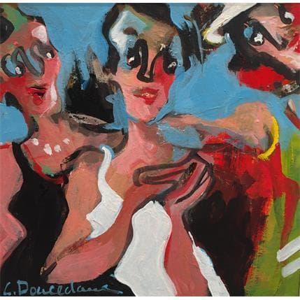 Christine Doucedame Les amies 13 x 13 cm