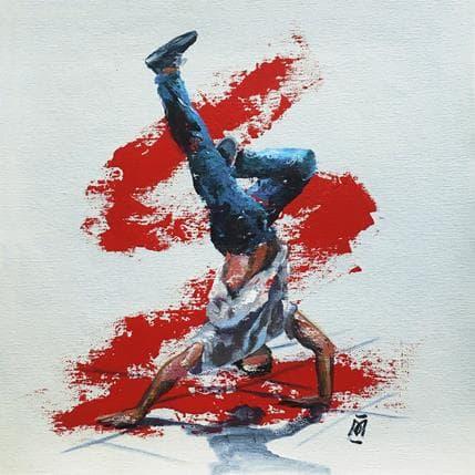 Margarita González Break dance 36 x 36 cm