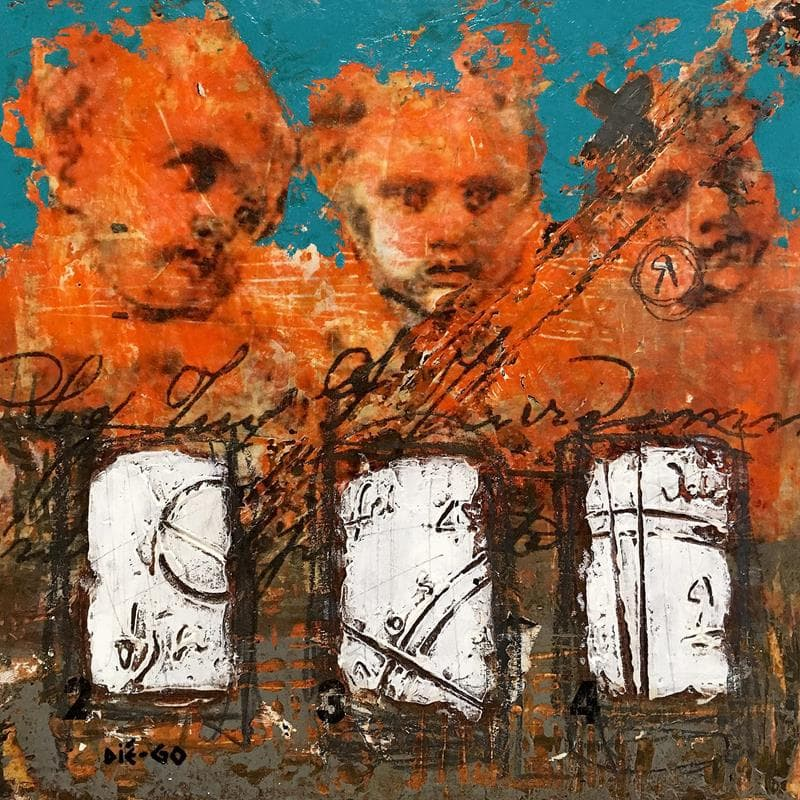 Small paintings Figurative Mixed</h2>