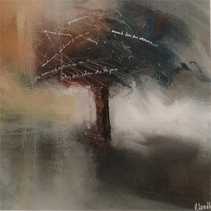 Jonas Lundh Poetry tree 25 x 25 cm