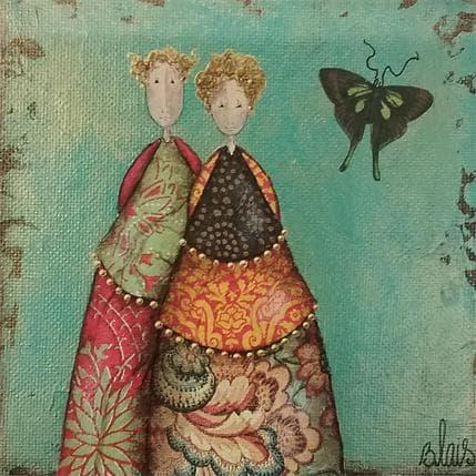 Delphine Blais Andréa et Achille 13 x 13 cm
