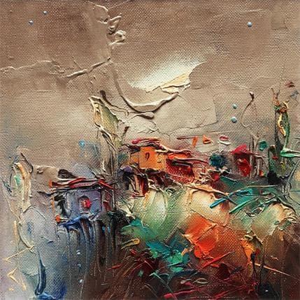 Stanislav Lazarov Silent expectation 19 x 19 cm