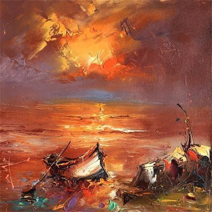 Stanislav Lazarov Summer memories 25 x 25 cm