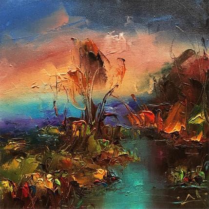 Lazarov Stanislav After the rain 25 x 25 cm