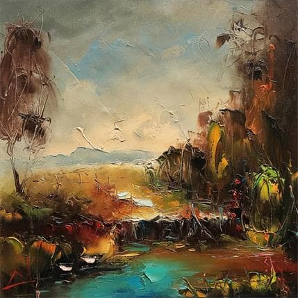 Stanislav Lazarov The coast of the tranquility 36 x 36 cm