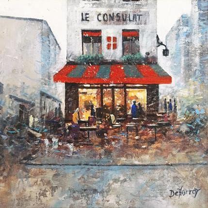 Georges-Emile De Norroy Le consulat 25 x 25 cm