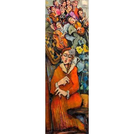 Nicole Garilli Harpiste and co 40 x 120 cm