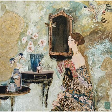 Karine Romanelli Juste pour ton regard 50 x 50 cm