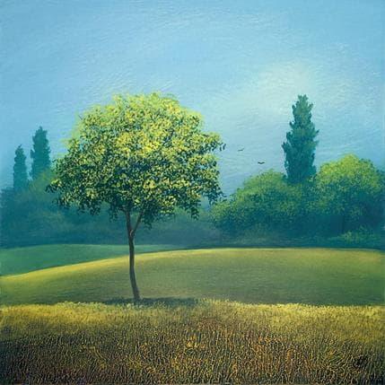 Yves Ogier A l'abri des tempêtes 36 x 36 cm