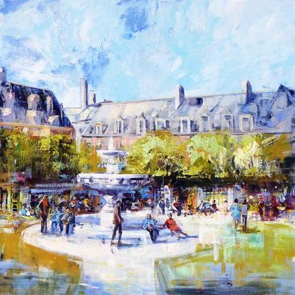 Frédéric Thiéry Place des Vosges 80 x 80 cm