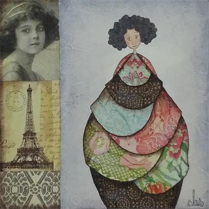 Delphine Blais Jeanne 19 x 19 cm