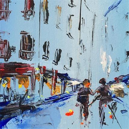 Christian Raffin Balade en ville 13 x 13 cm