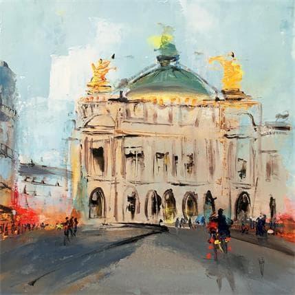 Christian Raffin Opéra Garnier 36 x 36 cm