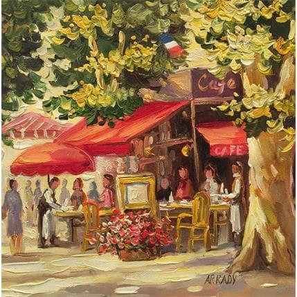 Arkady Terrasse de café 25 x 25 cm