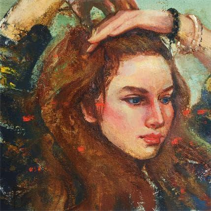 Pitchanan Saayopoua Let her hair down 25 x 25 cm