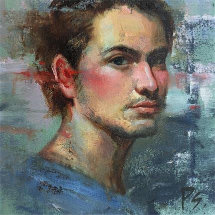 Pitchanan Saayopoua In his eyes 25 x 25 cm