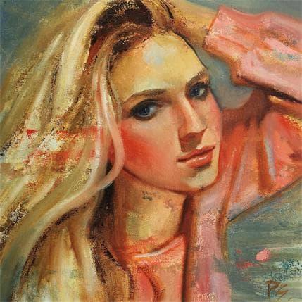 Pitchanan Saayopoua Blondie 36 x 36 cm