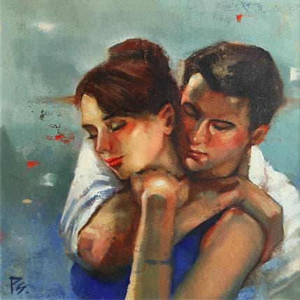 Pitchanan Saayopoua Two of us 36 x 36 cm