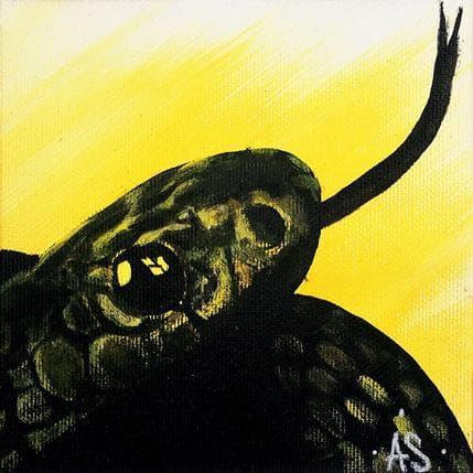 Antoine Seurot Snake 13 x 13 cm