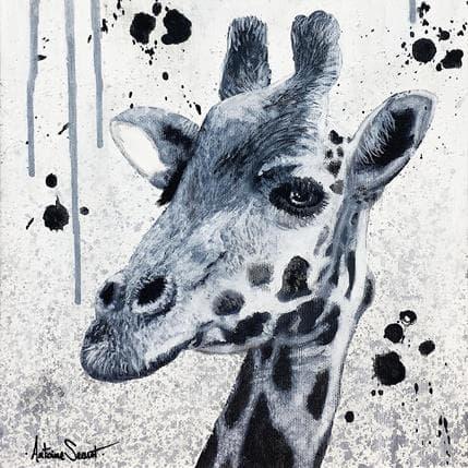 Antoine Seurot Girafe 3 25 x 25 cm