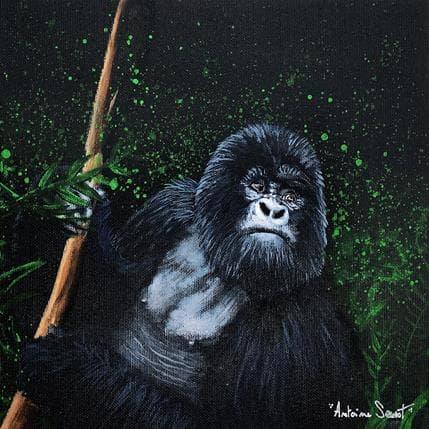 Antoine Seurot Gorille 25 x 25 cm