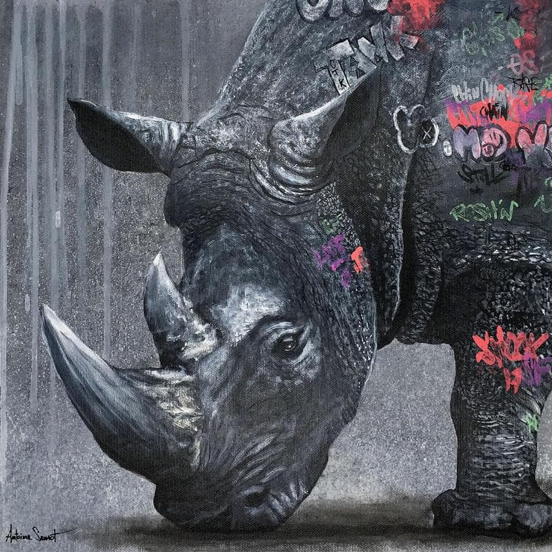 Rhino graff