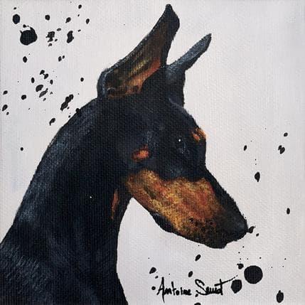 Antoine Seurot Dobermann 13 x 13 cm