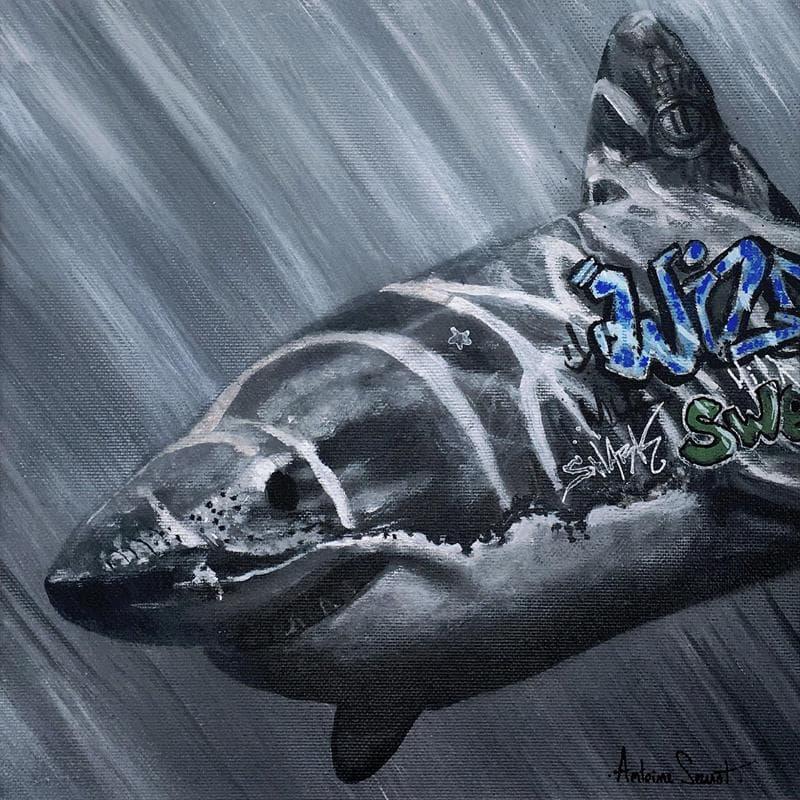 Shark graff
