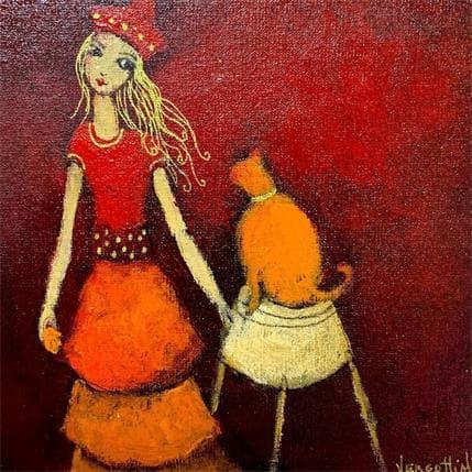 Paola Vergottini Un amor 19 x 19 cm